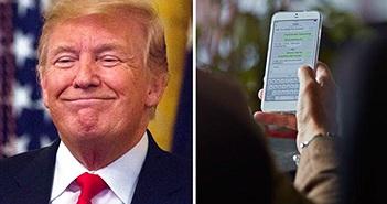 Hacker có thể giả dạng Tổng thống Trump đưa ra báo động