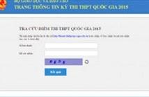 Từ 14h30: Bộ GD&ĐT chính thức công bố điểm thi