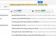 Hướng dẫn chuyển sang ngôn ngữ tiếng Việt cho Gmail