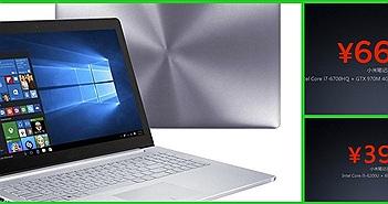 Lộ giá Xiaomi Notebook; cấu hình khủng Core i7-6700HQ, GTX 970M, 16 GB RAM, 512 GB SSD chỉ 23 triệu