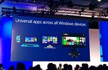 Ứng dụng phổ quát là sai lầm trong chiến lược Windows 10