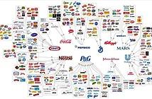 """10 tập đoàn đang """"thâu tóm"""" thị trường tiêu dùng trên toàn thế giới"""