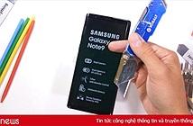 Tra tấn Galaxy Note 9 bằng dao, bật lửa và bẻ cong: phát hiện bất ngờ về màn hình