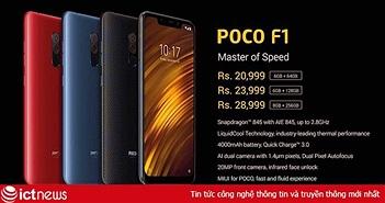 Xiaomi Pocophone F1 ra mắt: điện thoại giá rẻ, cấu hình khủng long