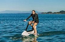 Cận cảnh xe đạp đi trên mặt nước độc đáo sắp ra mắt