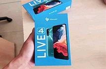 Vsmart Live 4 lộ diện sắc nét: cụm 4 camera hầm hố, pin 5000mAh