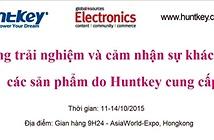 Huntkey mang nhiều giải pháp, thiết bị nguồn tới Hội chợ điện tử HongKong