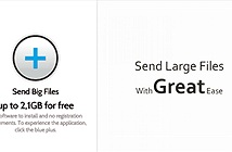 Gửi file dung lượng lớn qua email trên di động