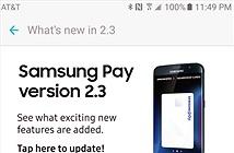 Samsung Pay tích hợp đồng bộ đám mây, hỗ trợ máy quét mống mắt