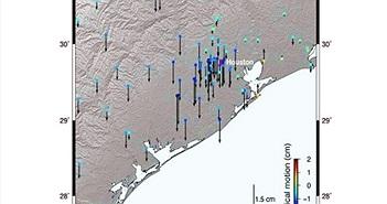 Vỏ Trái đất biến dạng sau siêu bão thập kỷ ở Mỹ