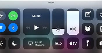 Cách tùy biến Control Center trên iOS 11