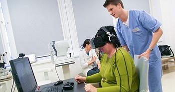 Slovakia: Sử dụng kính thực tế ảo để chữa bệnh về mắt