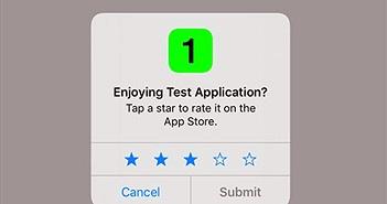 Cách ngưng yêu cầu đánh giá ứng dụng trên iPhone hoặc iPad