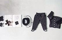"""Kỳ thú loại quần áo có thể """"lớn"""" theo bé con"""