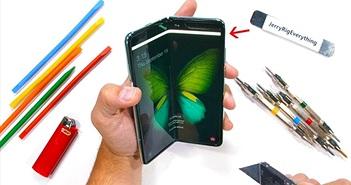 Samsung Galaxy Fold vẫn chưa ổn sau màn thử nghiệm độ bền