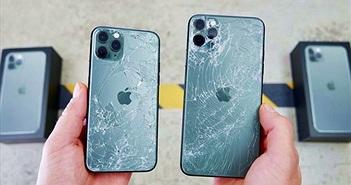 Thả rơi iPhone 11 Pro: mặt kính bền hơn so với thế hệ trước