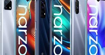 Realme Narzo 20 series ra mắt: Màn hình 90Hz, sạc nhanh 65W, giá từ 115 USD
