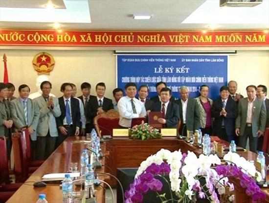 VNPT sẽ hỗ trợ Lâm Đồng triển khai Chính phủ điện tử