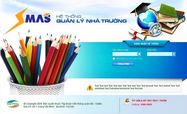Nâng cao quản lý giáo dục với SMAS 3.0