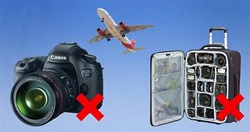 Mỹ hối thúc các hãng hàng không cấm mang máy ảnh trong hành lý ký gửi