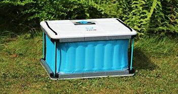 Tủ làm mát không cần điện, không cần đá, có thể gấp gọn mà vẫn giữ lạnh hiệu quả