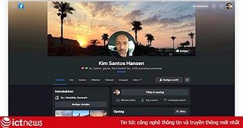 Một số người dùng Facebook bắt đầu dùng giao diện mới
