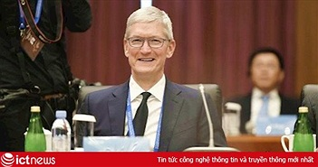 Tim Cook làm Chủ tịch ban cố vấn đại học hàng đầu Trung Quốc