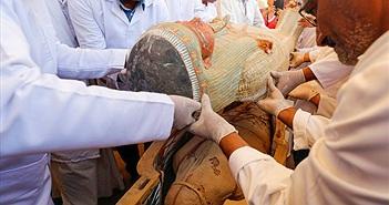 Ai Cập phát hiện nhiều quan tài chứa xác ướp nhất trong hơn 1 thế kỷ