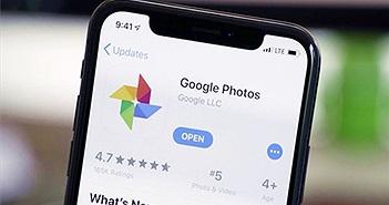 Người dùng iPhone không được lưu ảnh miễn phí lên Google Photos