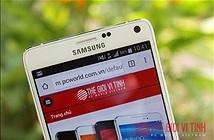 Samsung âm thầm tăng hiệu năng Galaxy Note 4