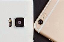 Galaxy Note 4 và iPhone 6 Plus đọ khả năng chống rung quang học