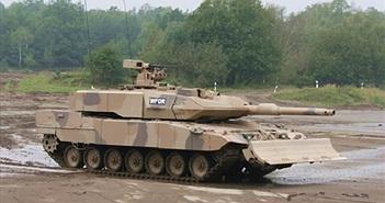 """Chi tiết về xe tăng """"báo sa mạc"""" của quân đội Đức"""