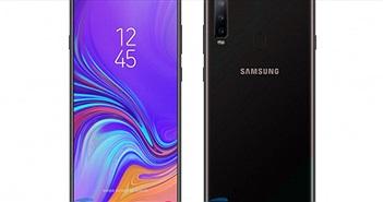 Đã có ảnh kết xuất đồ họa của Galaxy A8s với màn hình thế hệ mới