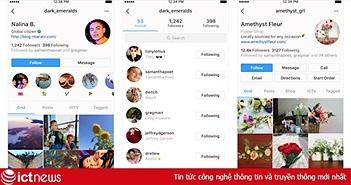 Instagram thay đổi hoàn toàn giao diện, làm nổi bật hồ sơ người dùng