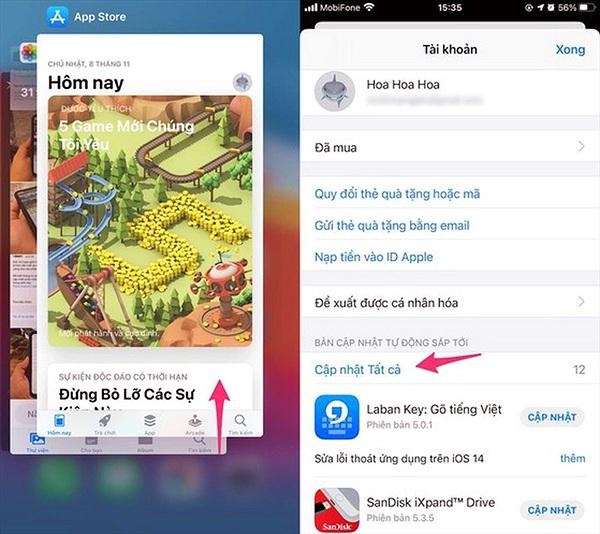 Làm thế nào để sửa lỗi không cài được ứng dụng trên iPhone