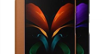 Samsung ra mắt ốp da cho Galaxy Z Fold2, Galaxy Buds Live