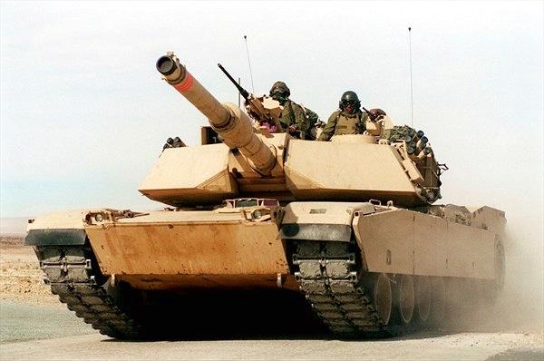Chứng thực sức mạnh xe tăng M1 Abrams