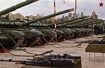 Dàn tăng T-72B3 quân đội Nga phô trương sức mạnh