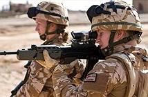 Phụ nữ Anh sắp được ra trận chiến đấu