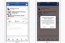 Facebook tìm cách mới chống tin tức giả mạo