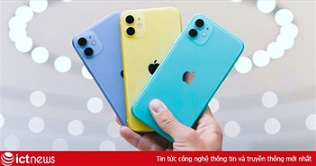 iPhone 11 và loạt smartphone xách tay giảm giá mạnh cuối năm 2019