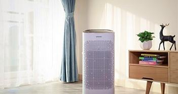 Mở hộp máy lọc không khí Samsung AX5000: thiết kế đẹp, lọc hiệu quả