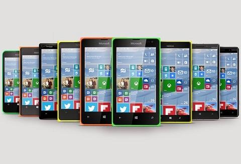 Điện thoại Lumia nào nâng cấp được lên Windows 10?