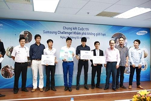 """Kết thúc cuộc thi """"Samsung Challenge! Khám phá không giới hạn"""""""
