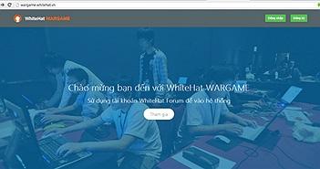 Whitehat tăng giải thưởng Contest lên 30 triệu đồng, ra mắt hệ thống Wargame