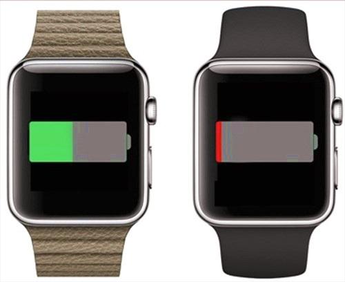 Lộ thời lượng dùng pin của Apple Watch
