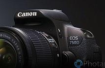 Rò rỉ thông số kỹ thuật máy ảnh Canon EOS 750D
