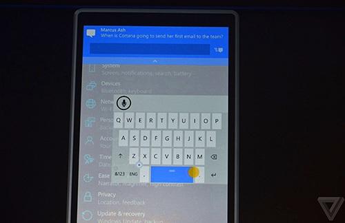 Windows 10 cho điện thoại sẽ phát hành tháng sau