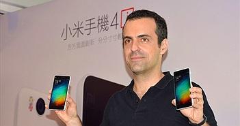 Hugo Barra thông báo rời Xiaomi, trở lại Mỹ