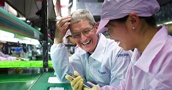Foxconn muốn hợp tác với Apple đầu tư cơ sở sản xuất màn hình tại Mỹ